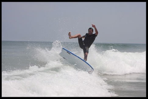 OBX Shootout Mickey McCarthy Catch Surf Beater Photo Sequence on Facebook